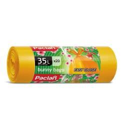 Worki żółte zapachowe 35 L