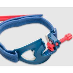 Stabilizator do rurek intubacyjnych niebiesko- czerwony- nowy typ