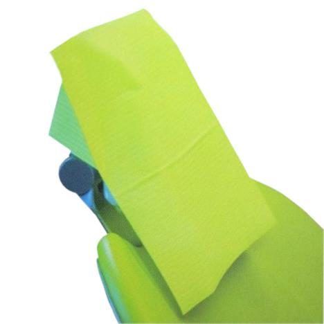 Jednorazowe pokrowce na zagłówki Dentix Pro Covers, zielone