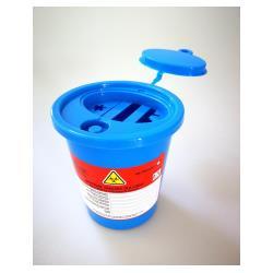Pojemnik na ostre odpady medyczne STANDARD 0,7L niebieski