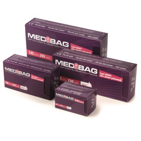 Torebki do sterylizacji MEDIBAG 57x100