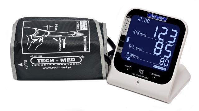 Ciśnieniomierz elektroniczny TMA-ALPHA TOUCH