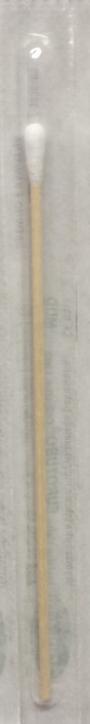 Pałeczki do wymazów z wacikiem sterylne, 1 op. 100 szt.