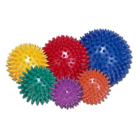 Piłeczka do rehabilitacji z kolcami Ø 5 cm fioletowa