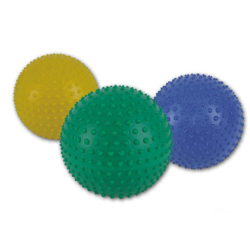 Piłeczka do rehabilitacji z kolcami Ø 25,5 cm zielona