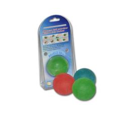 Piłeczka do rehabilitacji ŻELKA (średnia - zielona)
