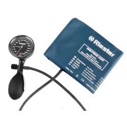Ciśnieniomierz zegarowy Riester E-mega czarny