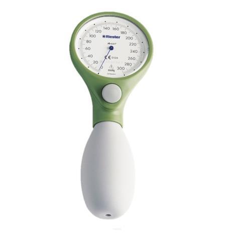 Ciśnieniomierz zegarowy Riester ri-san zielony