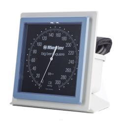 Biurkowy ciśnieniomierz zegarowy Riester Big Ben z kwadratową tarczą