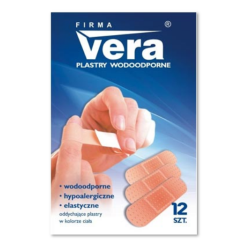 Zestaw plastrów wodoodpornych VERA, XL - 48 szt.