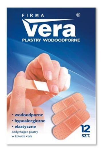 Zestaw plastrów wodoodpornych VERA, XXL - 60 szt.