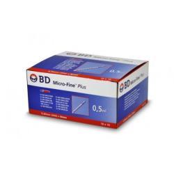 Strzykawka do insuliny BD 0,5 ml, 0,30 mm x 8 mm (G-30), U- 100 - 10 x 10 szt.
