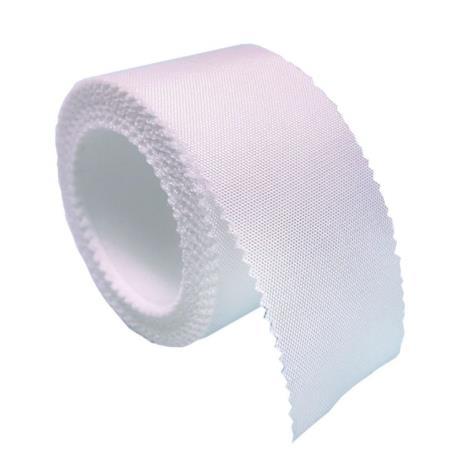 SILKplast Przylepiec mocujący ze sztucznego jedwabiu 5cm x 5m
