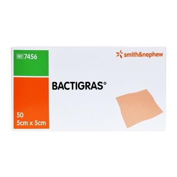 BACTIGRAS opatrunek parafinowy, jałowy 5 x 5cm, 1 op.