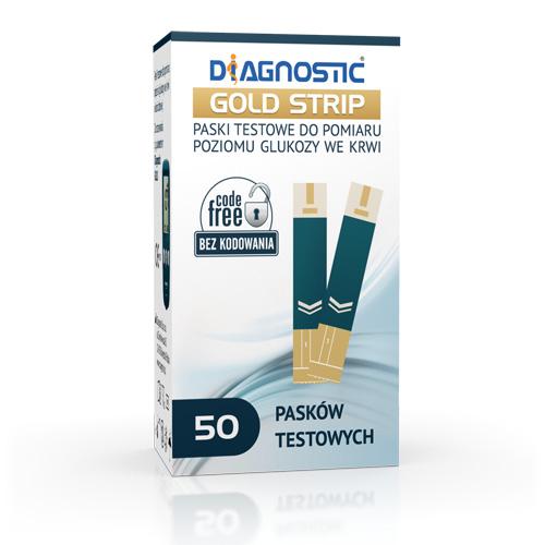 Paski Diagnostic GOLD Strip 50 szt.