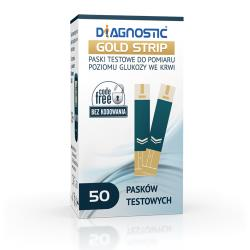 Paski Diagnostic GOLD Strip 50 szt.