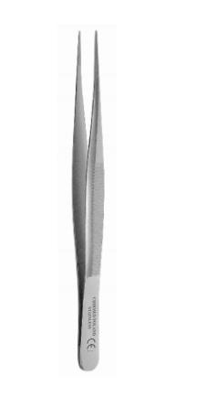 Pinceta anatomiczna delikatna, prosta dł. 110 mm