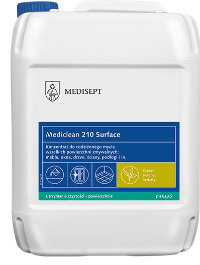 Mediclean 210 Surface Zielona herbata 5  L