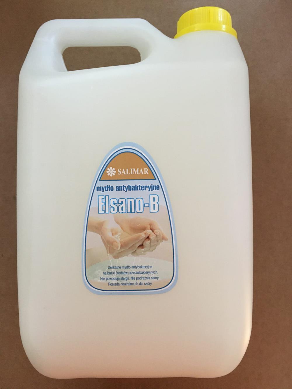 Elsano-B  Mydło w płynie antybakteryjne 5 L