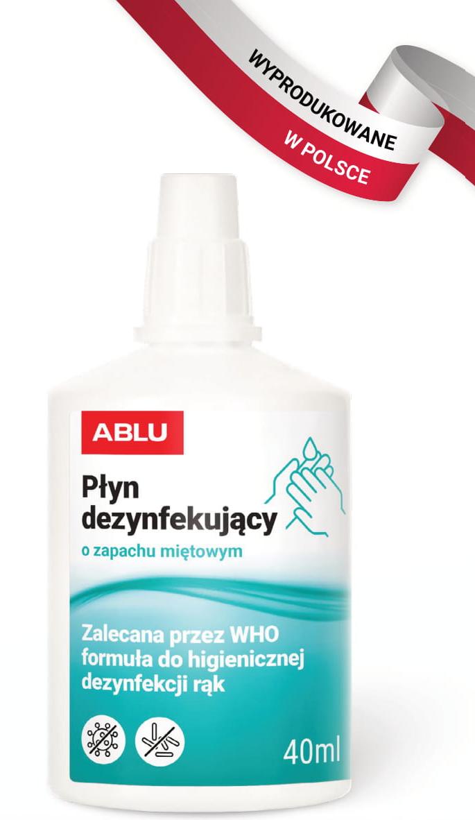 Płyn do dezynfekcji Ablu-Miętowy 78%alk 40ml