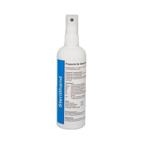 Sterillhand Płyn do dezynfekcji rąk z atomizerem - 250ml