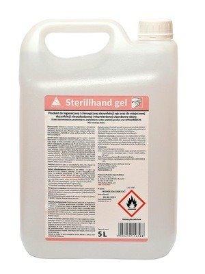 Sterillhand Gel  Antybakteryjny żel do rąk - 5000 ml