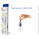 Termometr szklany bezrtęciowy, wodoodporny CRW-1108, op. 1 szt