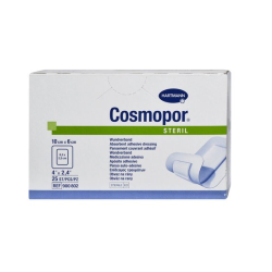 Opatrunek pooperacyjny jałowy Cosmopore E 20 cm x 10 cm, op. 25 szt.