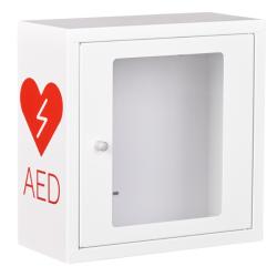 Skrzynka na defibrylator z alarmem ASB1010 Biała