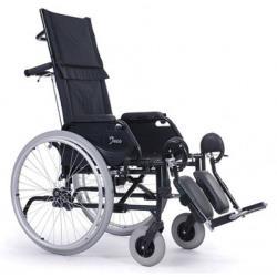 Wózek inwalidzki - JAZZ30 - odchylanym oparciem do 30 °