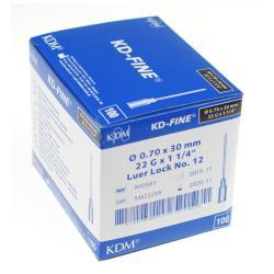 Igły iniekcyjne KD -  Fine j.u. 0,7 x 40 mm - 100 szt.