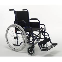 Wózek ręczny dla osób ciężkich na podwójnym krzyżaku max. 150 kg