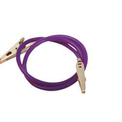 Łańcuszek do serwet plastikowy, fioletowy
