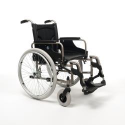 Wózek inwalidzki - V100 - stalowy