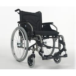 Wózek inwalidzki - V100XXL - ręczny dla osób bardzo ciężkich