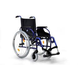 Wózek inwalidzki - D200 - z aluminium
