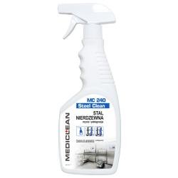 Preparat do czyszczenia i pielęgnacji stali nierdzewnej - 0,5L