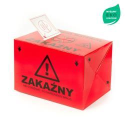 Pojemnik na odpady medyczne, kartonowy - 4L
