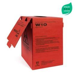 Pojemnik na odpady medyczne, kartonowy - 10L