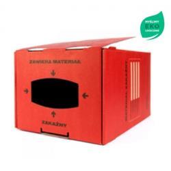 Pojemnik na odpady medyczne, kartonowy - 20L