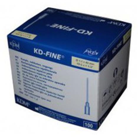 Igły iniekcyjne KD -  Fine j.u. 0,4 x 20 mm - 100 szt.
