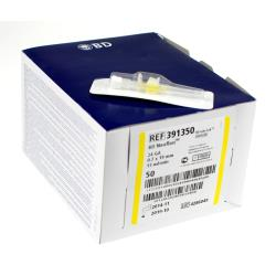 Kaniula dożylna żółta wenflon bez portu Neoflon BD 0,7 x 19 mm 24G