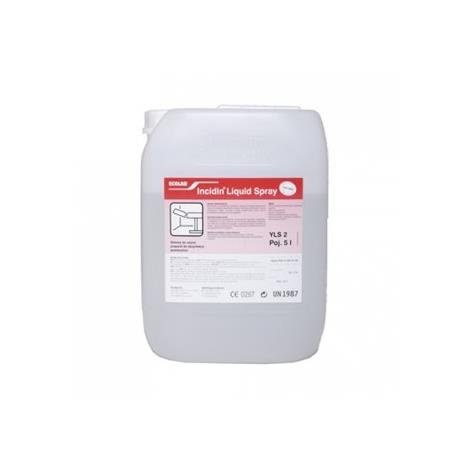Preparat do dezynfekcji Incidin Liquid Spray - 5L