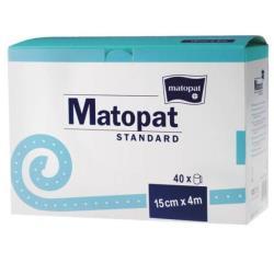 Matopat Standard- bandaż podtrzymujący bawełniany 10cm x 4m, 40szt.