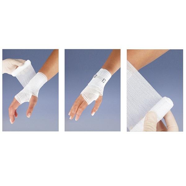 Matoban bandaż podtrzymujący z zapinką 8cm x 5m.