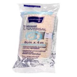 MATOPAT UNIVERSAL bandaż elastyczny uniwersalny z zapinką 8cm x 4m