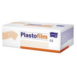 PLASTOFILM przylepiec hypoalergiczny przezroczysty 2,5 cm x 5 m, 16 szt.