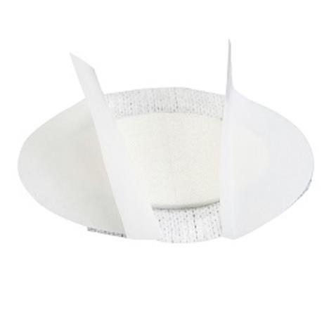 FIXOPORE S OCZNY opatrunek włókninowy z wkładem chłonnym, owalny 6,5 x 9,5 cm, 50 szt.