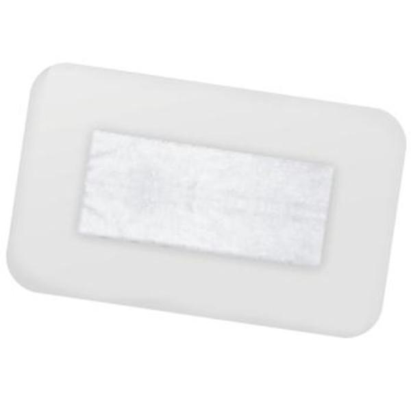 FIXOPORE F jałowy opatrunek foliowy z wkładem chłonnym 5 cm x 7,2 cm, 50 szt.