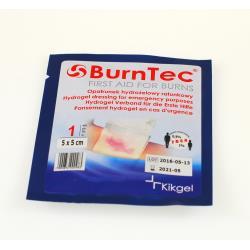 Opatrunek hydrożelowy BurnTec 5 x 5 cm, 1 szt.